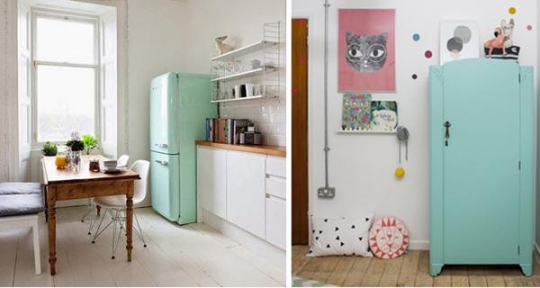 Quali sono i colori pi rilassanti per l 39 arredamento - Cucine con frigo smeg ...